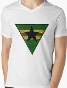 Firefly: Browncoat Logo (Patch) Mens V-Neck T-Shirt