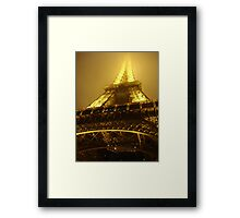 Head in the clouds.. Framed Print