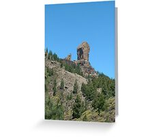 Roque Nublo - Gran Canaria Greeting Card