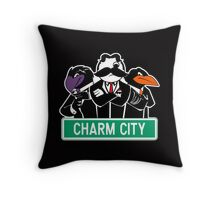 Charm City Gang Throw Pillow