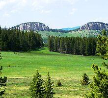 Twin Buttes by Braedene