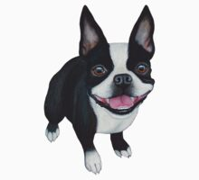 Boston Terrier Baby Tee