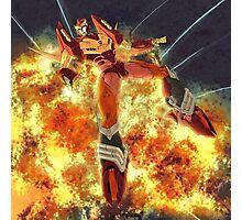 Roddy & explosions Photographic Print