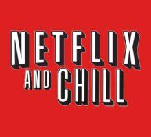 Netflix And Chill??? Kids Tee