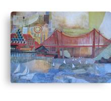 Enter that Golden Gate Canvas Print