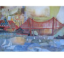 Enter that Golden Gate Photographic Print