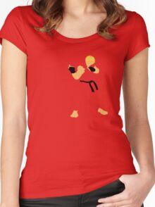 Ken - Street Fighter - Minimalist Women's Fitted Scoop T-Shirt