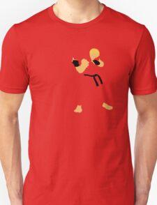 Ken - Street Fighter - Minimalist Unisex T-Shirt