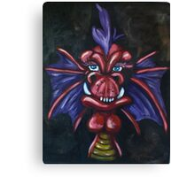 Roach the Red Dragon Canvas Print