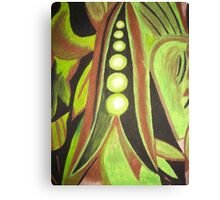 Abstract Peas Canvas Print
