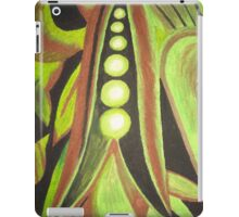 Abstract Peas iPad Case/Skin