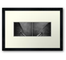 Floating Bridge (diptych 7/8) Framed Print