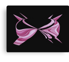 Pink Bra Canvas Print