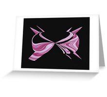 Pink Bra Greeting Card