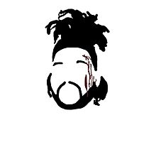 The Weeknd - The Hills Cartoon  Photographic Print