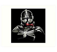 Star Wars - Stormtrooper - Venom - Spiderman Art Print