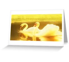 Serenity in slow motion Greeting Card