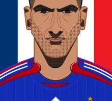 Zinadine Zidane Sticker