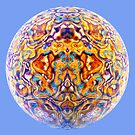 Reflected Randomised Fractal by Hugh Fathers