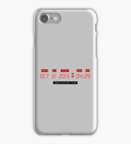 Where you're going iPhone Case/Skin
