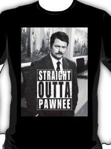 Striaght Outta Pawnee T-Shirt