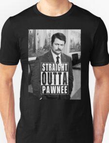 Striaght Outta Pawnee Unisex T-Shirt