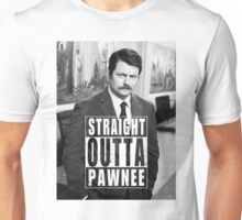 Striaght Outta Pawnee Unisex T-Shirt