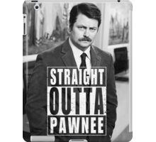 Striaght Outta Pawnee iPad Case/Skin