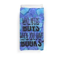 More Nerdy Book Stuff  Duvet Cover