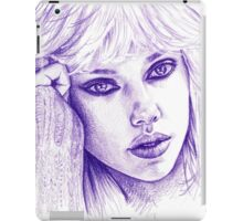 ScarJo iPad Case/Skin