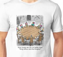 King Arthur and the Knights of the Round Table Unisex T-Shirt