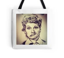 LUCILLE BALL PORTRAIT Tote Bag