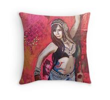 Natalie Phoenix Throw Pillow