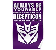 Always - Decepticon Poster
