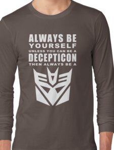 Always - Decepticon Long Sleeve T-Shirt