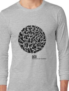 OCD - Obsessive Cat Disorder Long Sleeve T-Shirt
