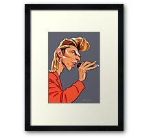 Mr. Jones - Singer Framed Print