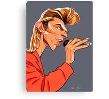Mr. Jones - Singer Canvas Print