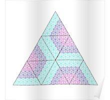 Zen triangles I Poster