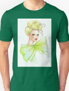Fashion girl drawing Unisex T-Shirt