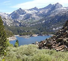 Lake Sabrina view by Roxygirl