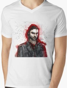 """""""Come Hither"""" Mens V-Neck T-Shirt"""