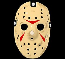 Friday The 13th Part 3 Hockey Mask by ArtistADC