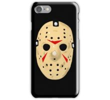 Friday The 13th Part 3 Hockey Mask iPhone Case/Skin