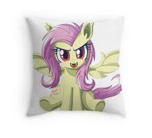 Flutterbat Throw Pillow