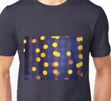 Abstract image - round, yellow and red lights Unisex T-Shirt