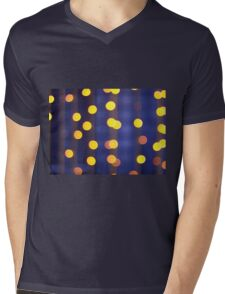 Abstract image - round, yellow and red lights Mens V-Neck T-Shirt