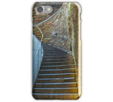 Vintage staircase in Bormes les Mimosas, FRANCE iPhone Case/Skin
