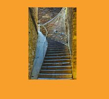 Vintage staircase in Bormes les Mimosas, FRANCE Unisex T-Shirt
