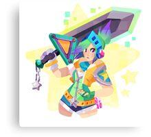 Arcade Riven Canvas Print